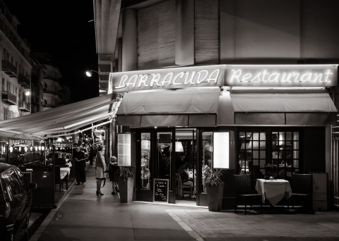 Nizza at Night - Das Restaurant