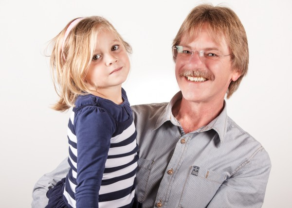 Portraitfotografie Jürgen und Kind