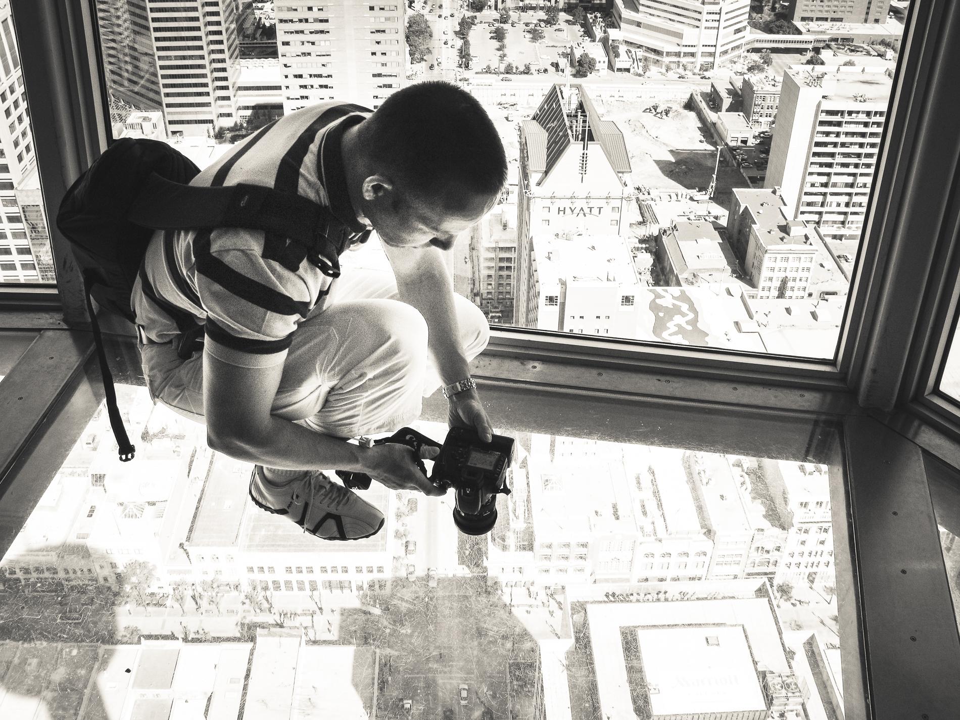 Calgary Tower Glasboden